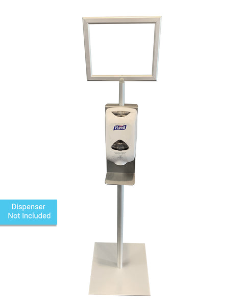 Sanitizer Stand for Automatic Hand Sanitizer Dispensers (with frame)