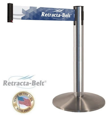 "G4 Single Line Display Retracta-Belt with 3"" x 10' Belt"