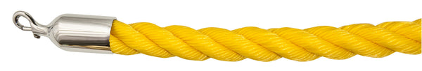 Visiontron Complete Ropes - Braided Polypropylene - Polished Chrome Snap Ends - Outdoor Ready