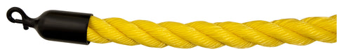Visiontron Complete Ropes - Braided Polypropylene - Smooth Black Snap Ends - Outdoor Ready