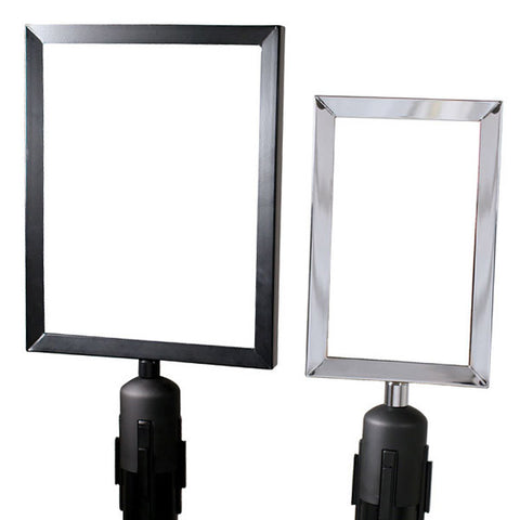 PRIME Heavy Duty Sign Frames with Adapter Cone - Includes 2 Acrylics