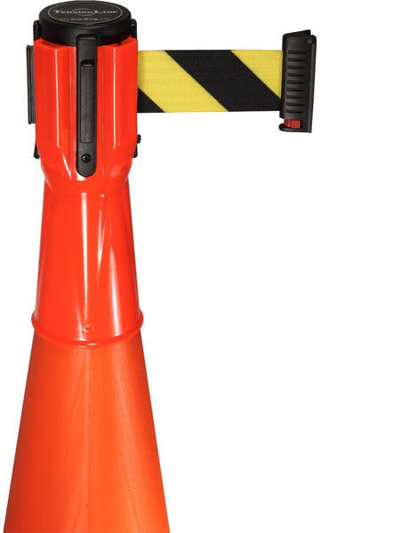Visiontron Retracta-Cone Cone Toppers - 10' Belt - Orange