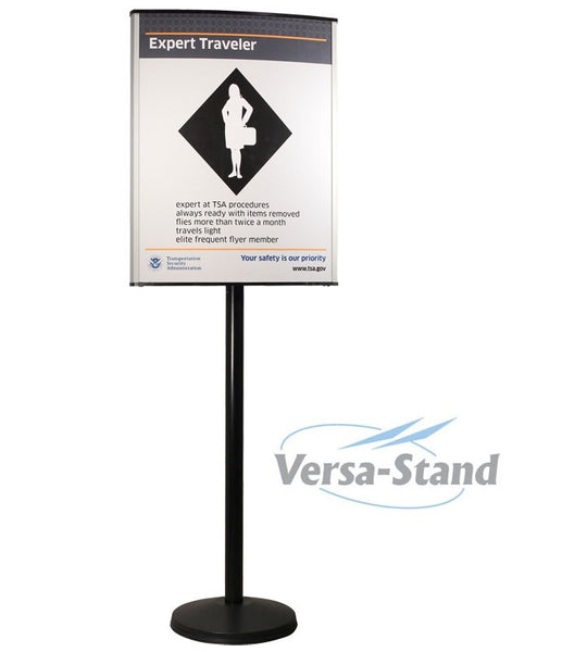 Visiontron Versa-Stand Post Sign Stand