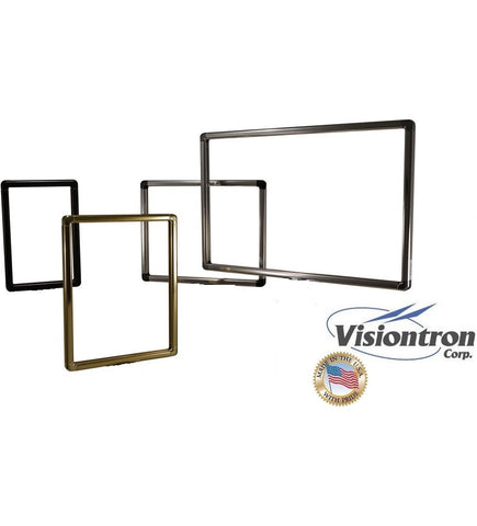 Visiontron Movie Poster Wall Mount Designer Series Sign Frame - Radius Corners