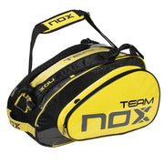 NOX TEAM RED 16 RACKET BAG - Lateral handle view