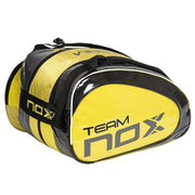 NOX TEAM RED 16 RACKET BAG- Lateral view