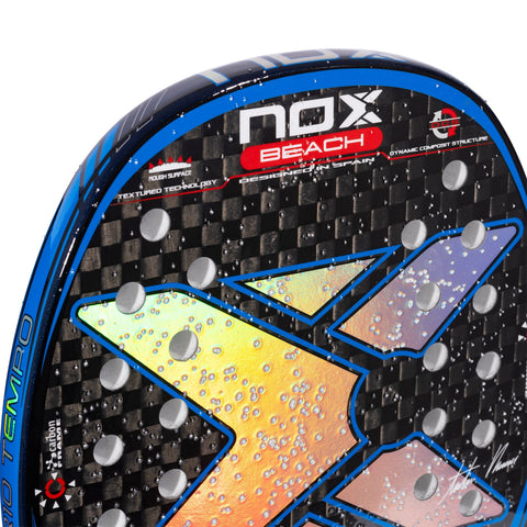 Beach tennis racket NOX AR10 Tempo. The racket of Antomi Ramos. 6
