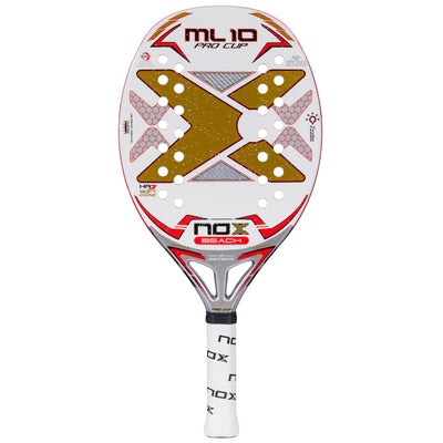 NOX ML10 PRO CUP BEACH TENNIS RACKET 1