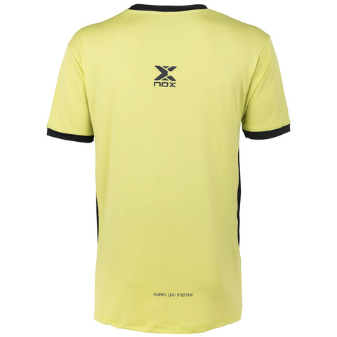 MEN'S beach tennis T-SHIRT PRO lime yellow