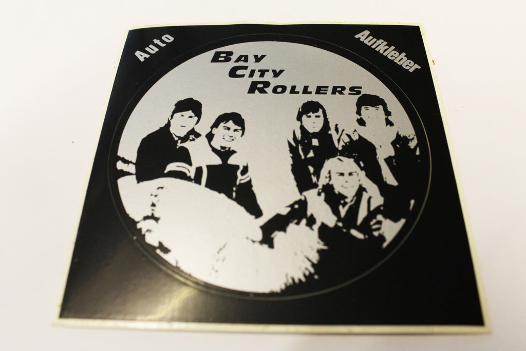Bay City Rollers Vintage Sticker