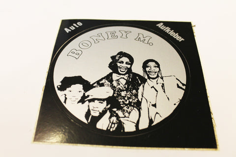 Boney M. Vintage Sticker