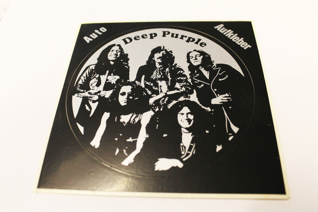 Deep Purple Vintage Sticker