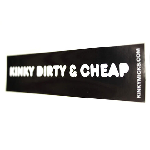 Kinky Micks Sticker KMS0008 (obsolete last few)