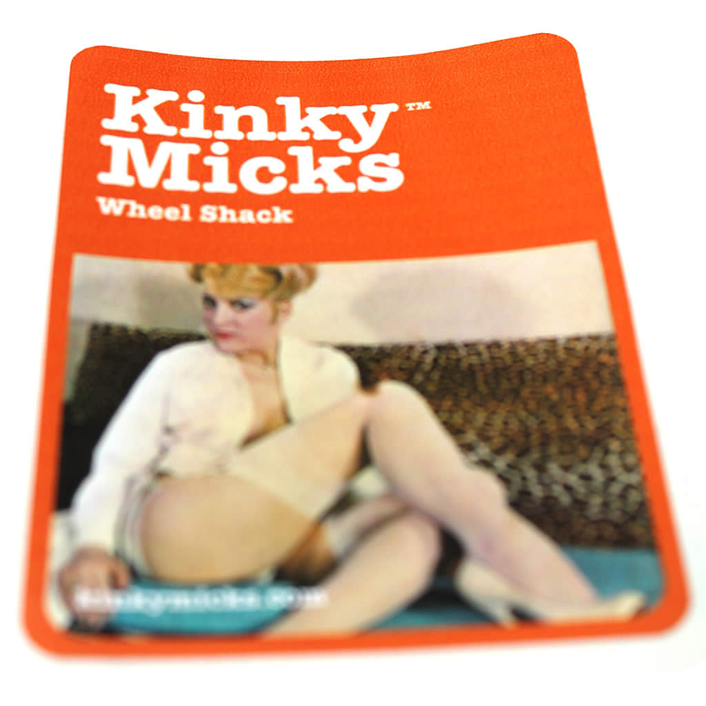 Kinky Micks Sticker KMS0013 (Obsolete down to last 15)