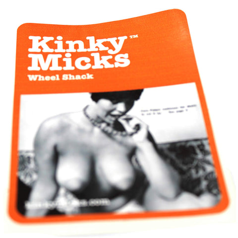 Kinky Micks Sticker KMS0014 (last few)