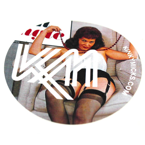 Kinky Micks Sticker KMS0026 (Obsolete down to last 30)