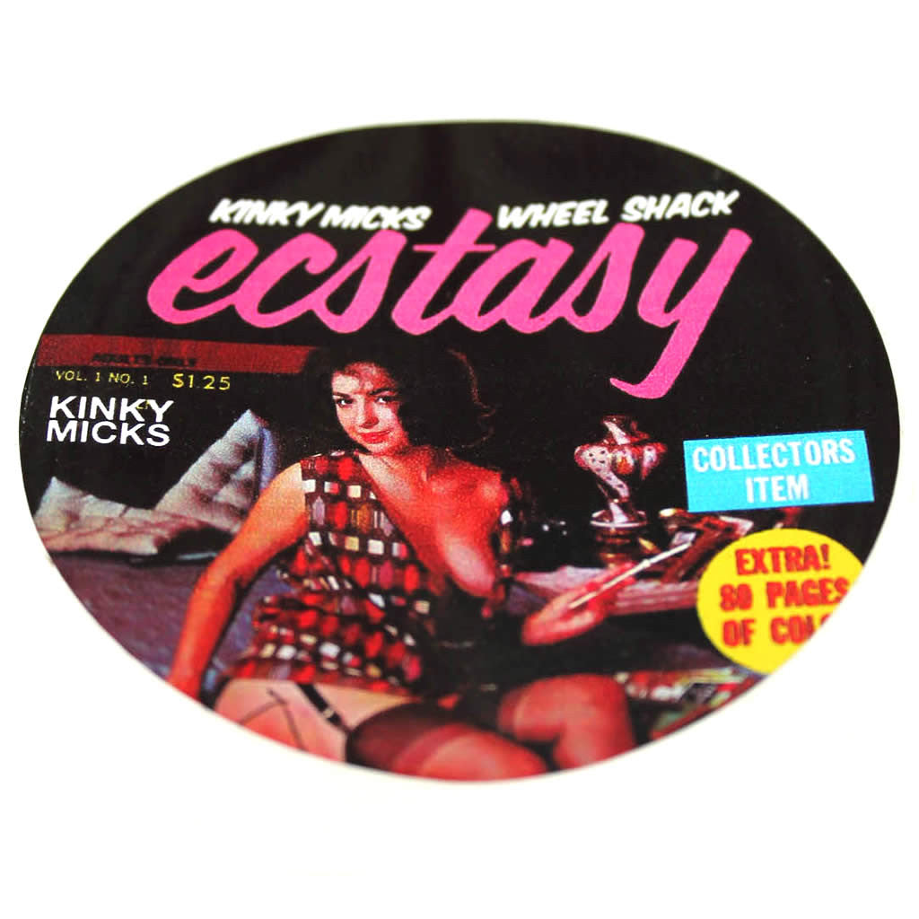 Kinky Micks Sticker KMS0027 (Obsolete down to last 15)