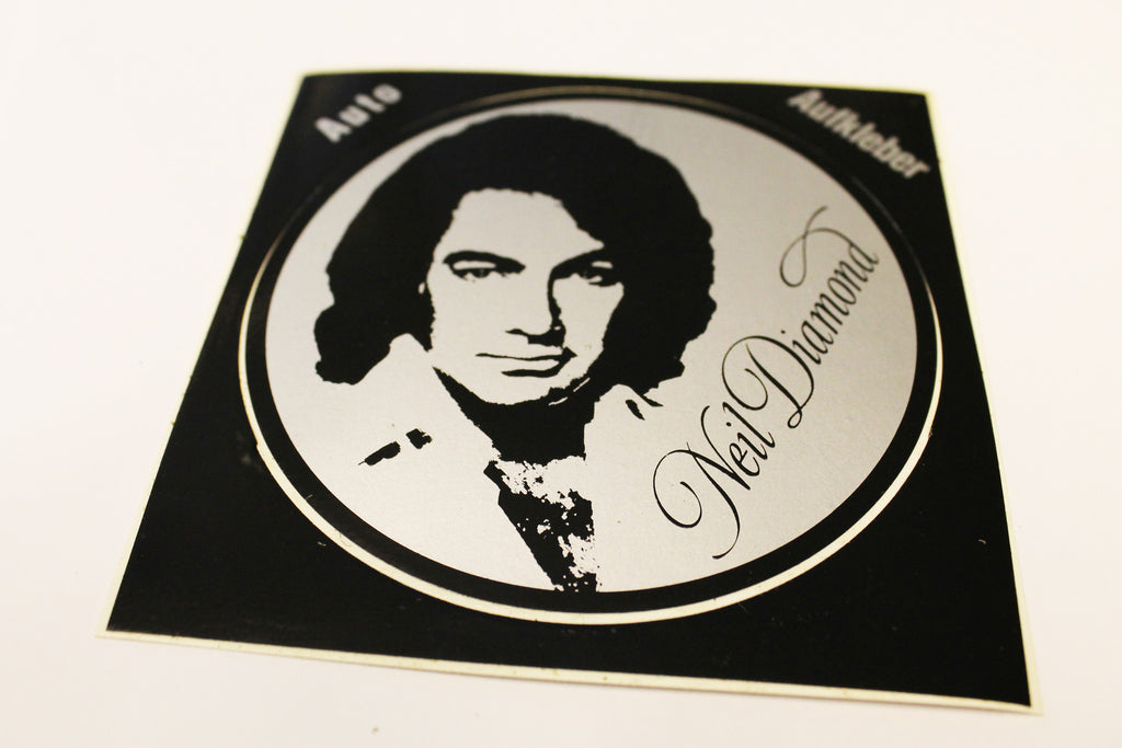 Neil Diamond Vintage Sticker
