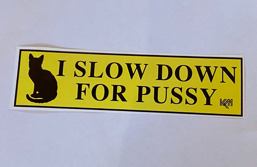 Slow Down For Pussy