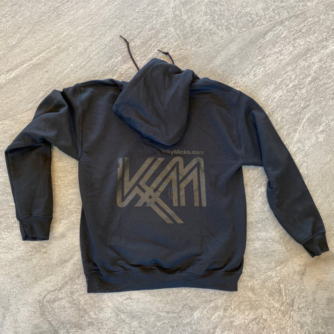 KM still not giving a f*ck 1963-2019 black/black hoodie