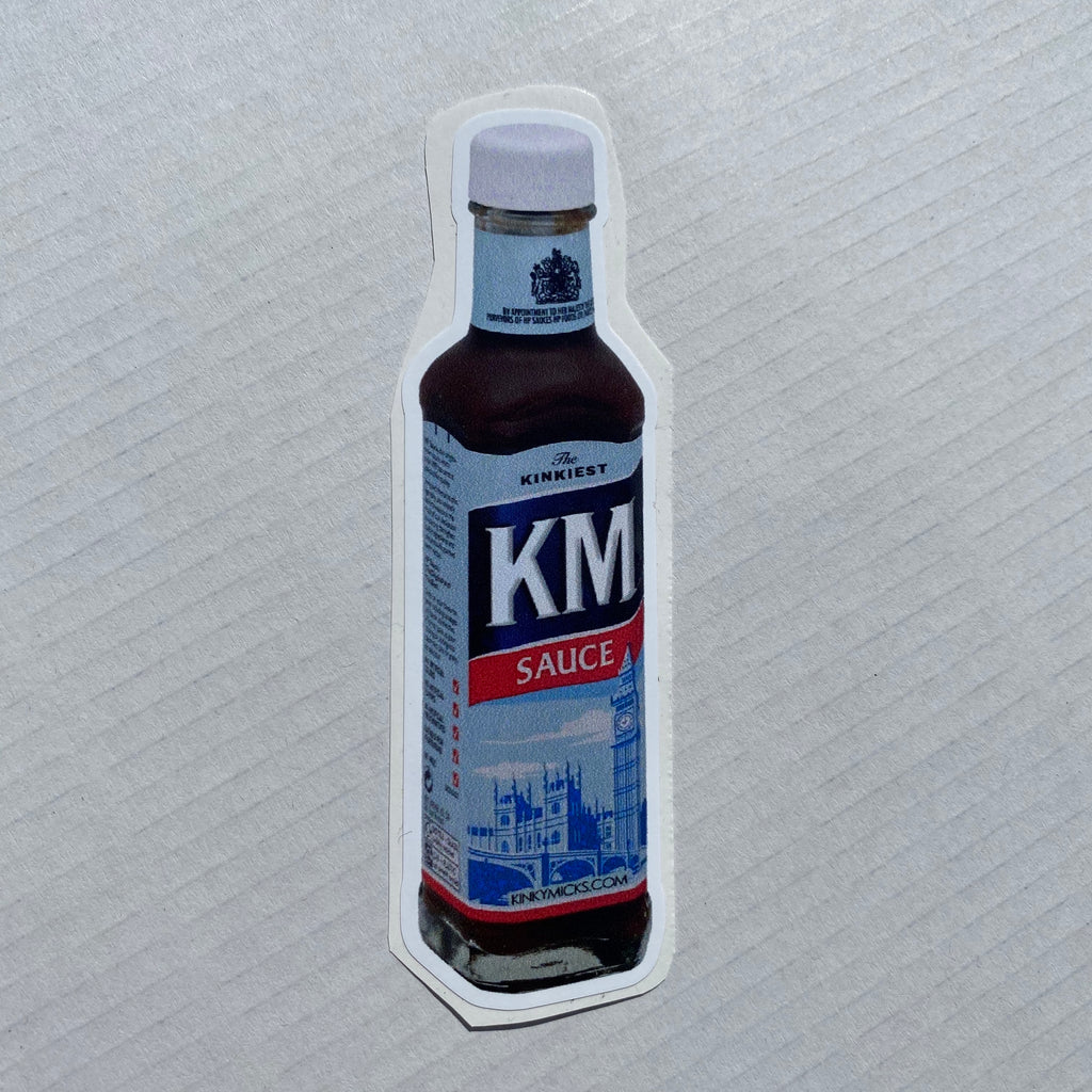 Kinky Micks Sticker KMS0156 KM Sauce