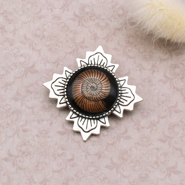 Broche Victoria - Ammonite