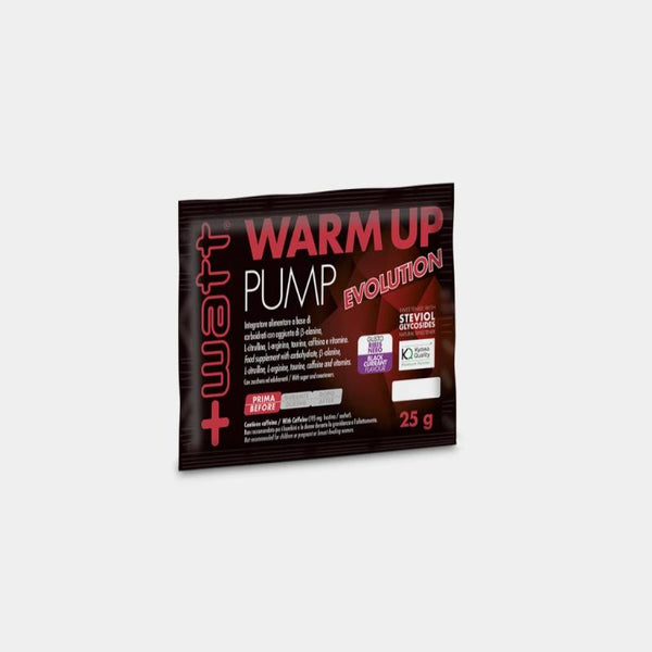 Pre-workout +Watt Warm Up Pump Evolution 25g