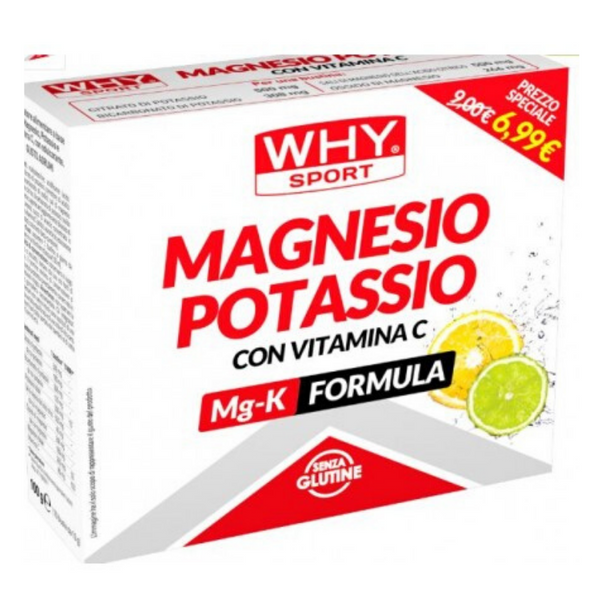 Magnesio Potassio With Vitamin-C Mg-K Formula 10 packs (10g a pack)