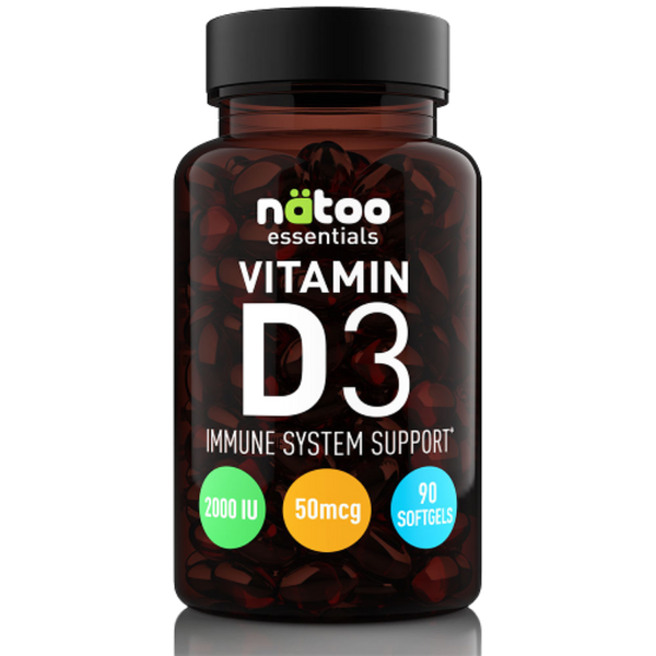 Natoo Essentials Vitamin D3 60cps