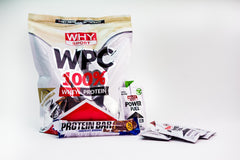 Pachet WPC 100% Whey + Energy Gel + Protein Bar