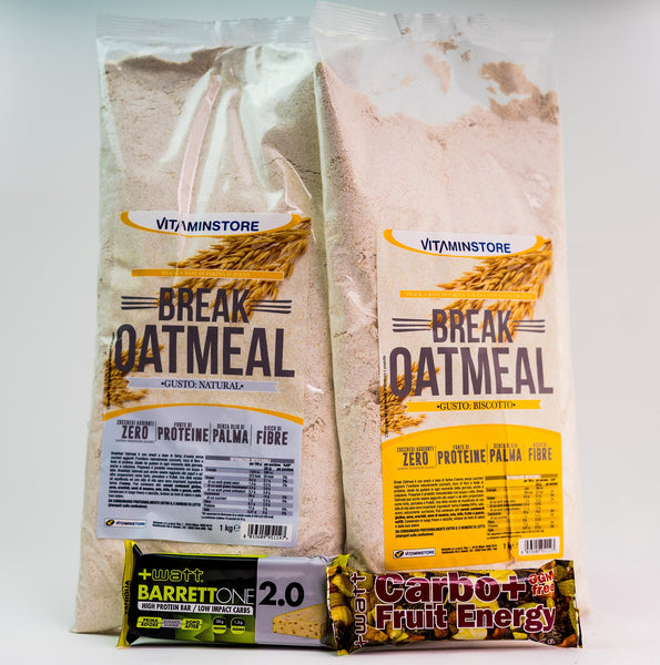 Pachet 2x Oatmeal + Protein Bars