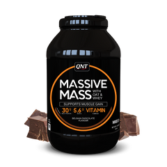 Qnt Massive Mass Gainer 2700 G Belgian Chocolate
