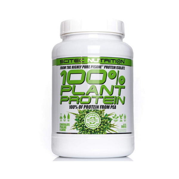 Scitec 100% Plant Isolate Protein From Pea - Chocolate Praline 900g