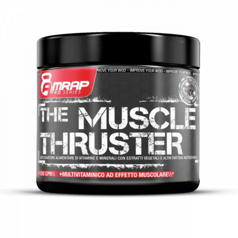 Pre-workout Amrap The Muscle Thruster 120cpr