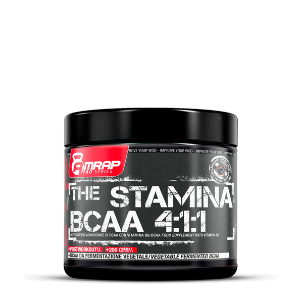 The Stamina BCAA 4:1:1 200 comprimate