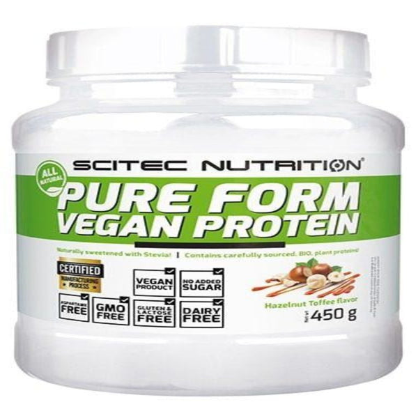Scitec Pure Form Vegan 450g Chocolate