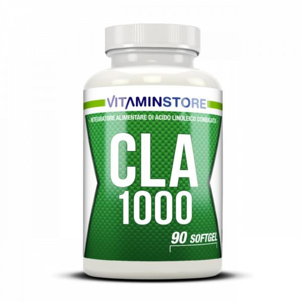 CLA 1000mg Vitaminstore 90cps