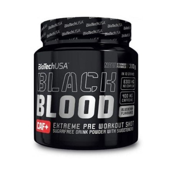Pre-workout Biotech Black Blood Caf+
