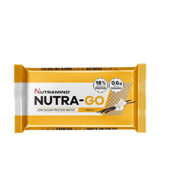 Nutramino Nutra-Go low sugar protein wafer vanila