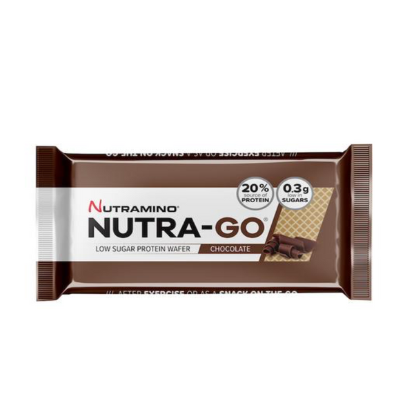 Nutramino Nutra-Go low sugar protein wafer chocolate