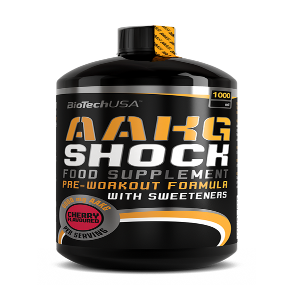 Pre-workout AAKG Shock Biotech 1000 ml