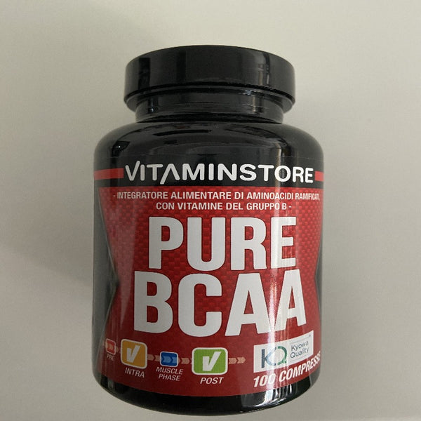 Vitaminstore Pure Bcaa 100 Cpr