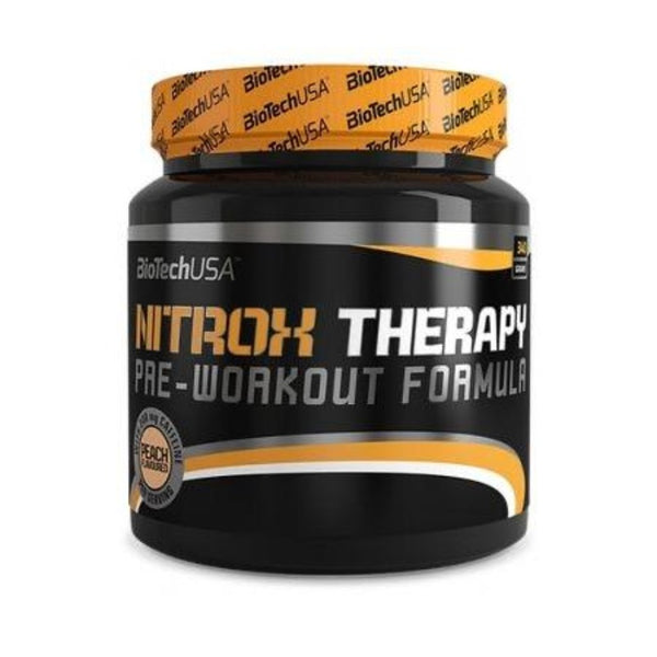 Pre-workout Biotech USA Nitrox Therapy Formula Peach 680 gr