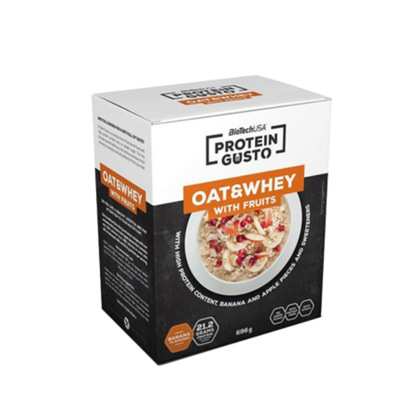 Protein Gusto Oat & Whey With Fruits Chocolate Flavour Biotech