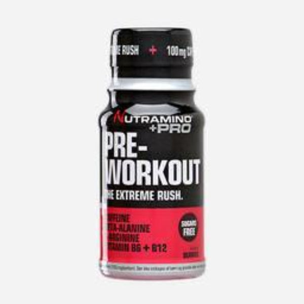 Nutramino Pre-Workout Shot Berries Flavour(fiola)