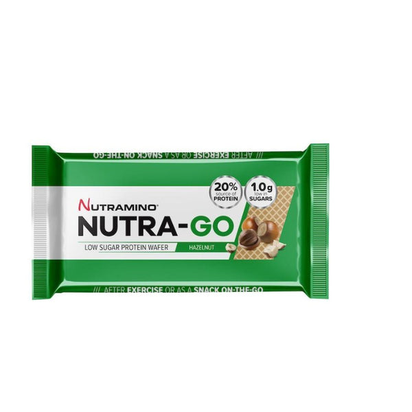 Nutramino Nutra-Go low sugar protein wafer hazelnut