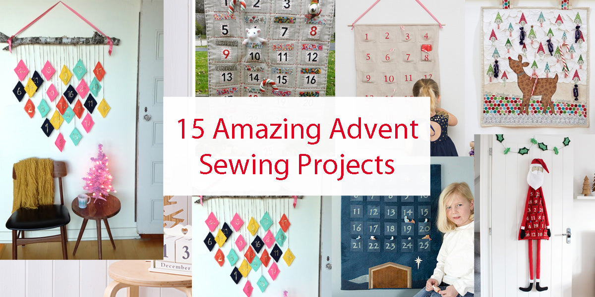 15 Amazing Advent Calendar Sewing Projects