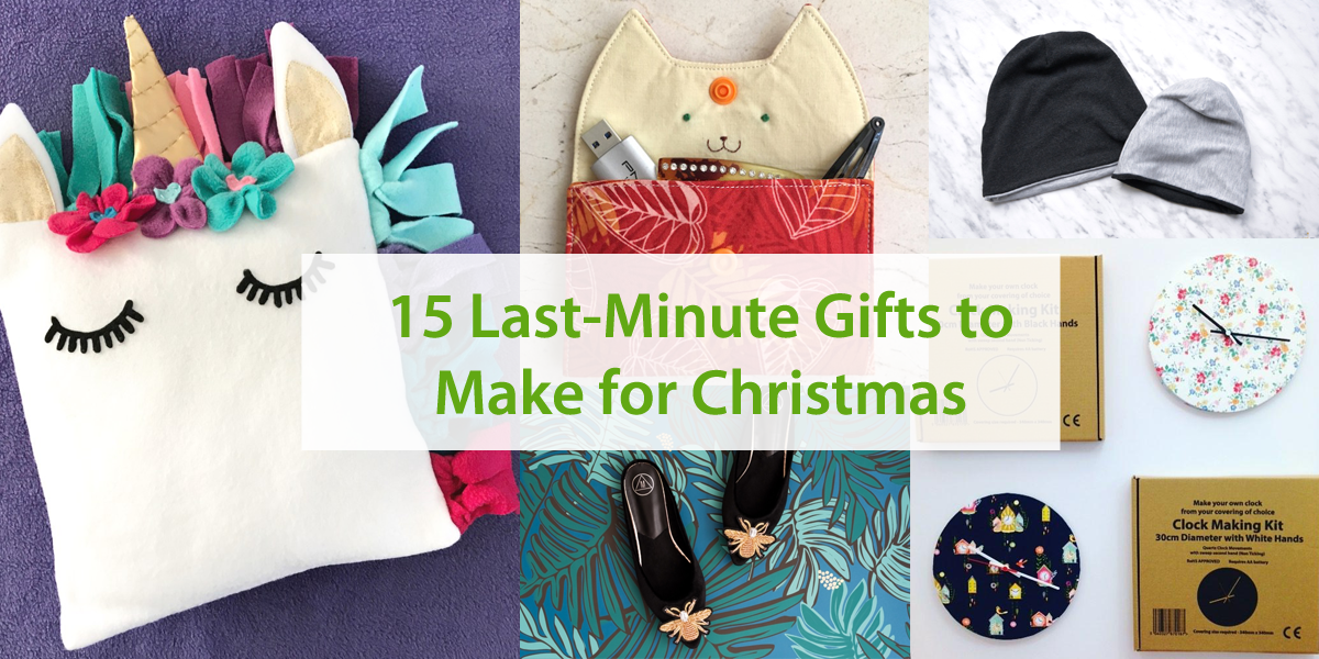 15 Last-Minute Gifts to Make For Christmas