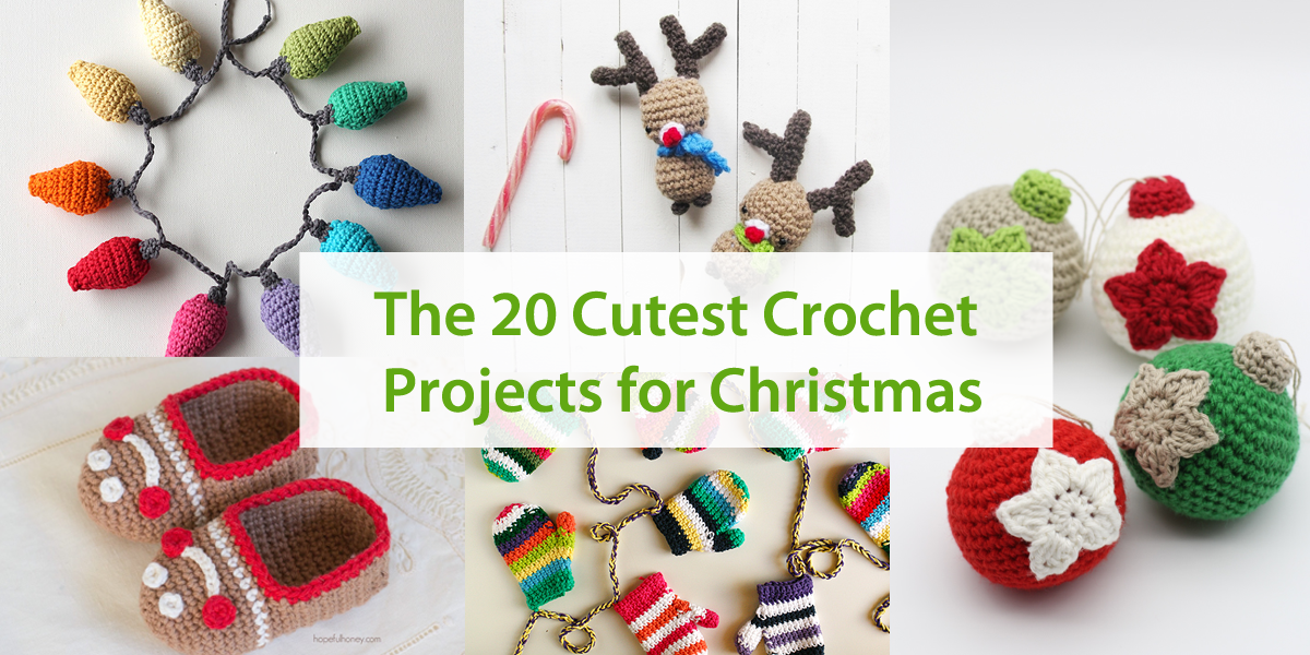 The 20 Cutest Crochet Projects for Christmas