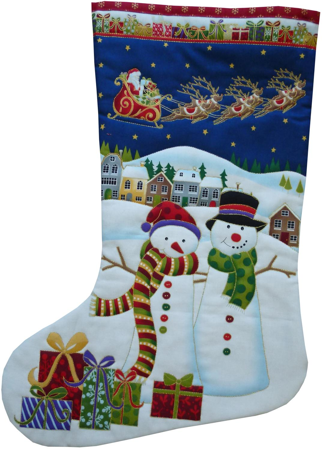 how to make a makower christmas stocking